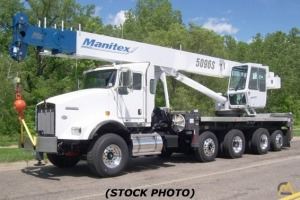 Manitex 5096S 50-ton Boom Truck for Sale