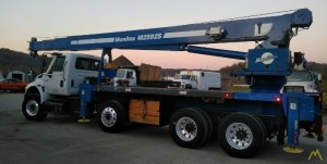 Manitex M2592S 25-ton Boom Truck Crane on International
