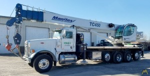Manitex TC450 45-Ton Boom Truck Crane on Peterbilt 367
