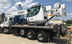 Manitex TC45127S 45-Ton Boom Truck on Peterbilt 567