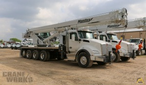 Manitex TC50155HL 50-Ton Boom Truck Crane on a 2020 Kenworth T880