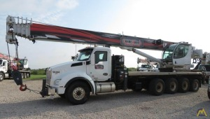 Manitex TC50155S 50-Ton Boom Truck Crane on a 2018 Kenworth T880