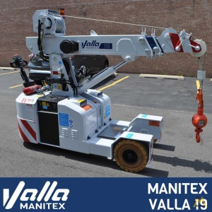 Valla Manitex Valla 19 1-ton Electric Pick & Carry Crane