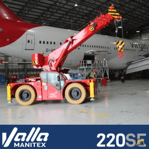 Manitex Valla 220S E / D Carry Deck Crane