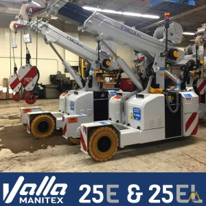 Manitex Valla 25 EL Electric Pick & Carry Crane