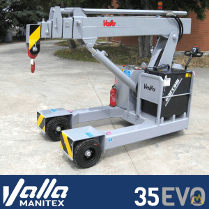 Manitex Valla 35 EVO Electric Pick & Carry Crane