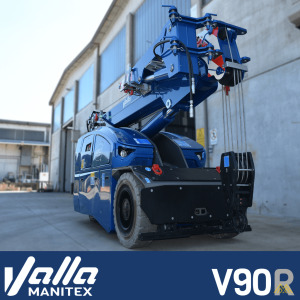 Manitex Valla V90R 9-ton Electric Pick & Carry Crane