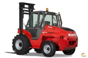 Manitou M 50-2H 5.5-Ton Industrial Big Wheel Lift Truck