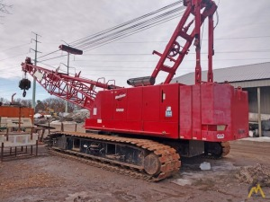 Manitowoc 10000 100-ton Lattice Boom Crawler Crane