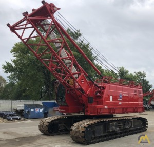 Manitowoc 11000-1 110-Ton Lattice Boom Crawler Crane