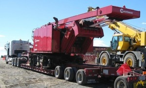 Manitowoc 14000 220-Ton Lattice Boom Crawler Crane