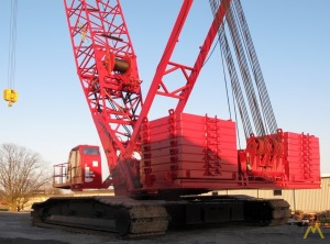 Manitowoc 16000 Crawler with Series 2 & Series 3 Counterweight