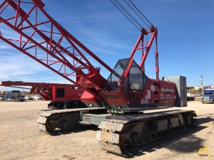 Manitowoc 222 Series B 100-Ton Lattice Boom Crawler Crane
