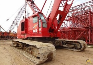 Manitowoc 3900W Series 2 Lattice Boom Crawler Crane
