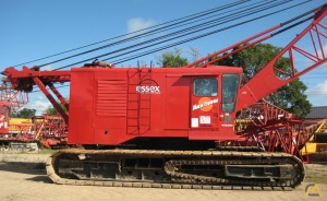 Manitowoc 4100W Series II 230-Ton Lattice Boom Crawler Crane