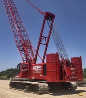 Manitowoc 555 150-Ton Lattice Boom Crawler Crane
