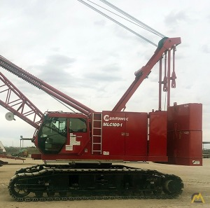 Manitowoc MLC100-1 110-Ton Lattice Boom Crawler Crane
