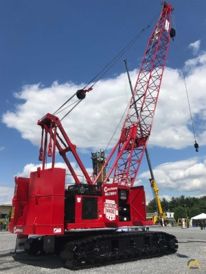Manitowoc MLC100 110-Ton Lattice Boom Crawler Crane