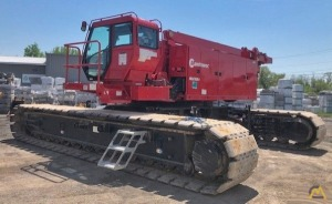 Manitowoc MLC165-1 182-Ton Lattice Boom Crawler Crane
