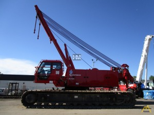 Manitowoc MLC165 182-Ton Lattice Boom Crawler Crane