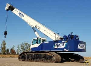 Mantis 10010MX 50-ton Telescopic Boom Crawler Crane