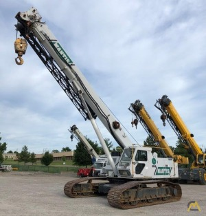 Mantis 6010 30-Ton Telescopic Crawler Crane