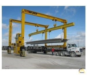 Mi-Jack MJ50 50-Ton Rubber Tired Gantry Crane