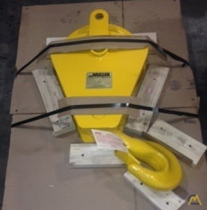 Miller Lifting Products 215 lb. 15-ton Single Sheave Hook Bock for 3/4 wire rope