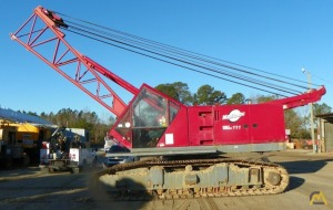 Mnaitowoc 111 80-ton Lattice Boom Crawler Crane