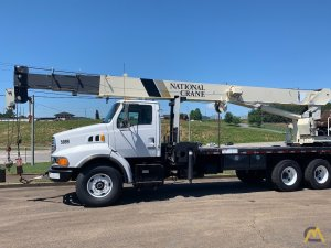 National 13105 30-ton Boom Truck Crane on Sterling