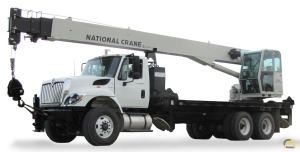 National 1300A Series Model 13100A 30-ton Boom Truck Crane on Freightliner 114SD