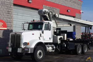 National 14127H 33-ton Boom Truck Crane on Peterbilt 367