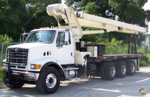 National 14127H 33-Ton Boom Truck Crane on Sterling LT-9513