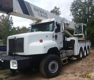 National Series 1500 Model 15127 36-Ton Boom Truck Crane on International 5600I