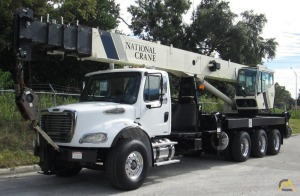 National 15127 36-Ton Boom Truck Crane on Freightliner M2 112