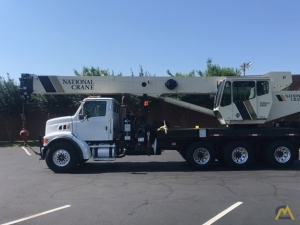 National 18127  40-ton Boom Truck Crane on Sterling LT7500