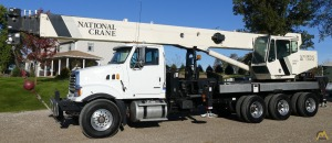 National 18142 40-ton Boom Truck on Sterling