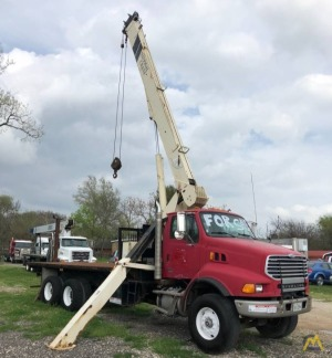 National 500E Series Model 560E 18-ton Boom Truck Crane on Sterling