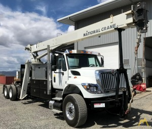 National 500E2 18-ton Tractor Mount Boom Truck on International 7500