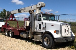National 560D 16-ton Boom Truck Crane on Peterbilt 365