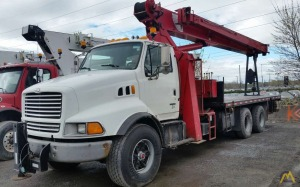 National 900 25-Ton Boom Truck crane