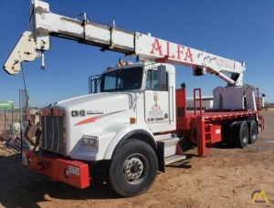 National Series 900A Model 990A 23-Ton Boom Truck Crane on Kenworth