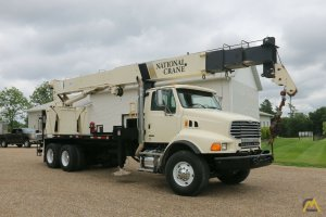 National 900A Model 9103A 26-ton Boom Truck on Sterling LT8500