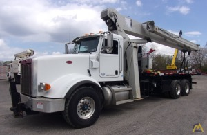 National 9103A 26-Ton Boom Truck Crane Mounted on Peterbilt 367