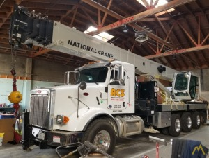 National NBT40-142 40-Ton Boom Truck Crane on Peterbilt 365