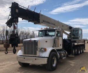 National NBT55-102 50-ton Boom Truck Crane on Peterbilt 367