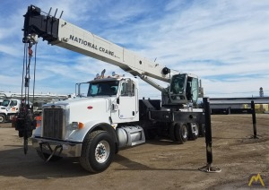 National NBT55-102 55-ton Boom Truck Crane on Peterbilt 367