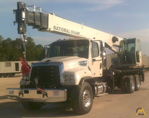 National Series 1300A Model 13110A 30-Ton Boom Truck Crane on Freightliner 114SD