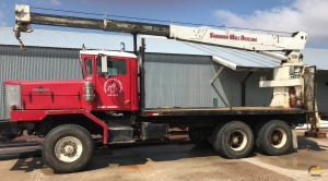 National Series 300B model 346B Boom Truck (Unmounted-Crane Only)