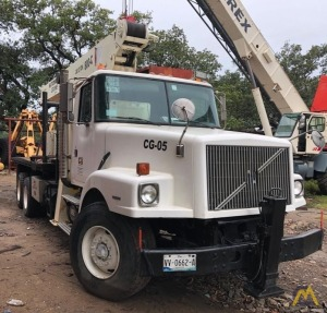 National Series 800C Model 880C 21-Ton Boom Truck Crane on Volvo